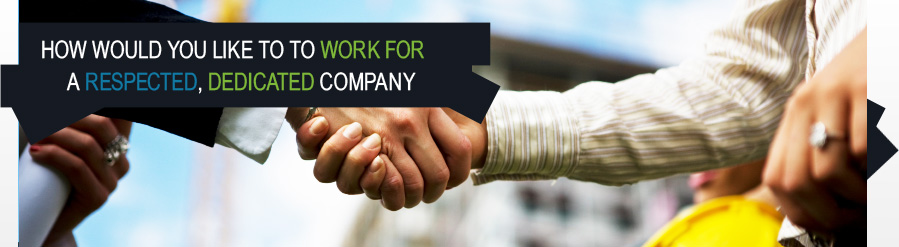 banner image - employment - shaking hands