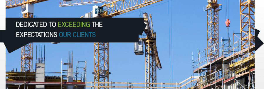 banner image - about us - towering cranes